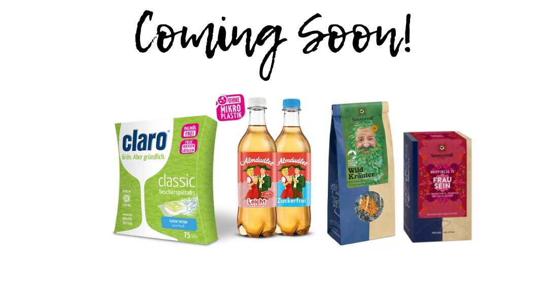 organic tea, beverages, detergent